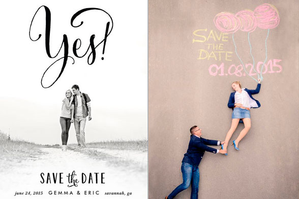 save the date boda